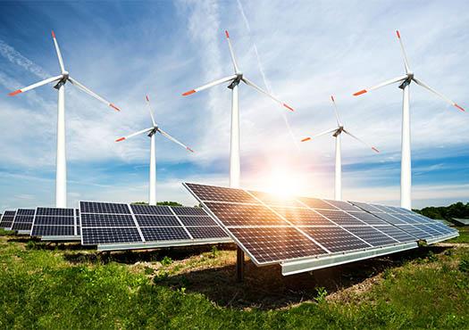 Energie opwekken met behulp van zonnepanelen