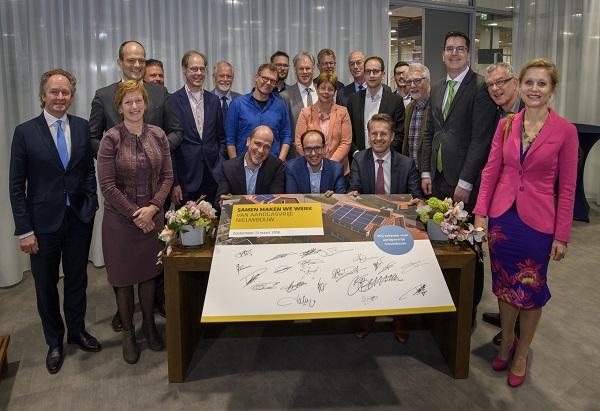 Zuid-Hollandse Gemeenten ondertekenen Convenant Aardgasvrije Nieuwbouw
