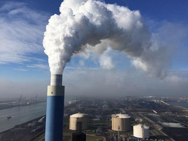 Kolencentrale Rotterdamse haven