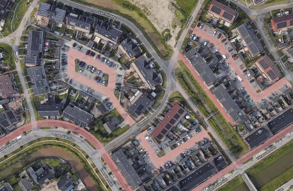 Rijswijk Buiten van bovenaf