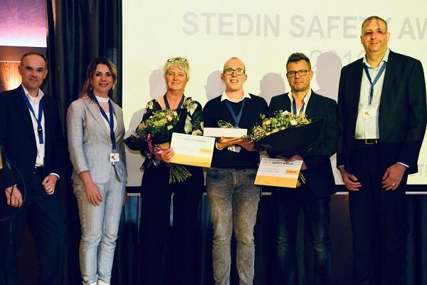 Uitreiking Stedin Safety Award aan BAM Infra Energie & Water West B.V.