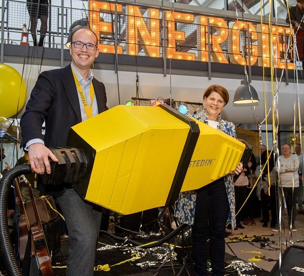 Opening pand Stedin Energieweg Delft