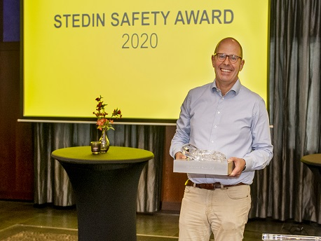 Winnaar Stedin Safety Award