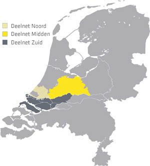 Regio's van Stedin